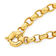 9ct Gold 19cm Solid Oval Belcher Bracelet