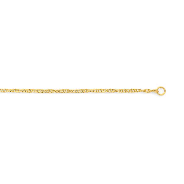 9ct Gold 45cm Singapore Chain