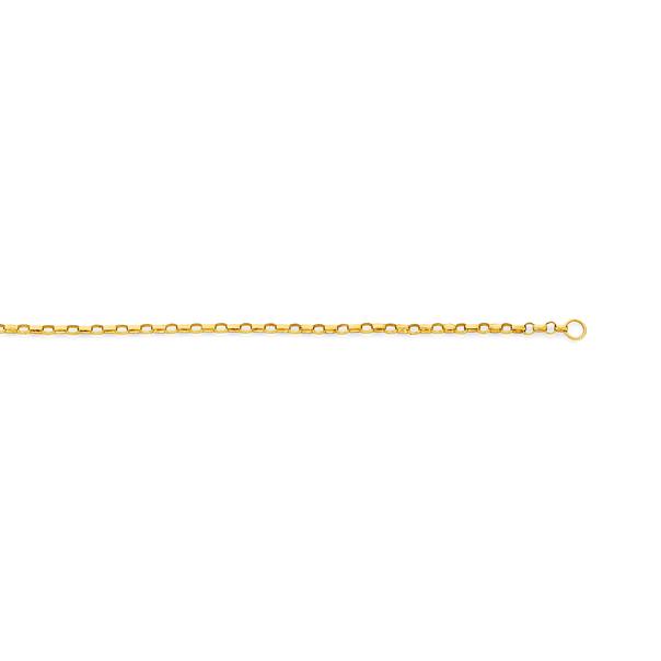 9ct Gold 45cm Solid Belcher Chain