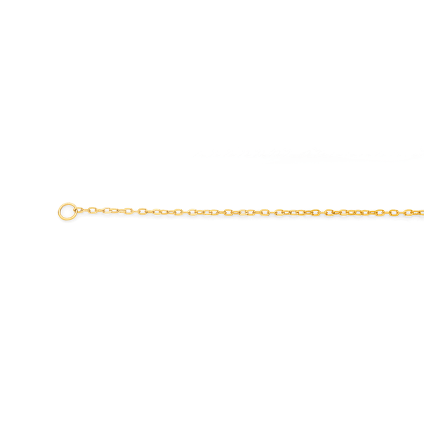 9ct Gold 45cm Solid Cable Chain