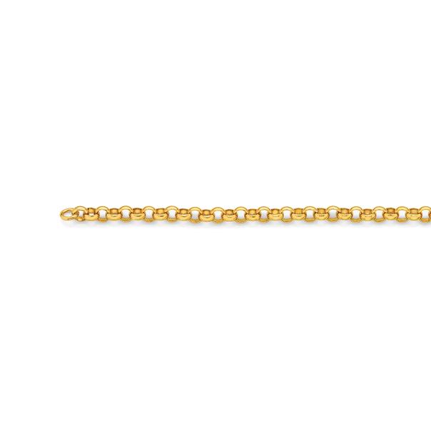 9ct Gold 50cm Solid Belcher Chain