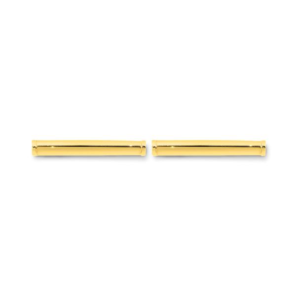 9ct Gold Bar Stud Earrings