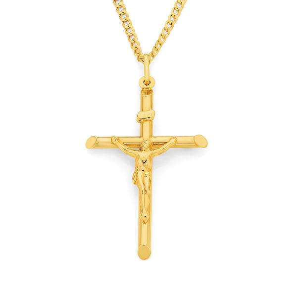 9ct Gold Crucifix Pendant