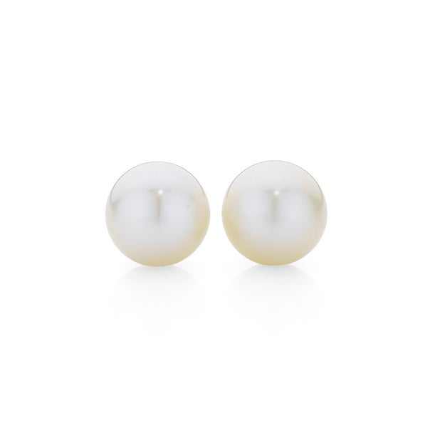 9ct Gold Cultured Freshwater Pearl Stud Earrings