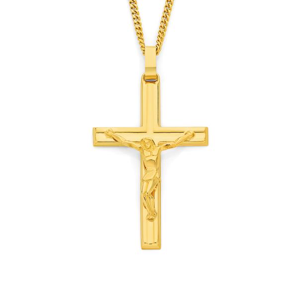 9ct Gold Curcifix Pendant