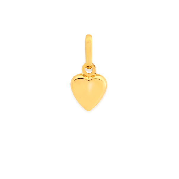 9ct Gold Heart Charm