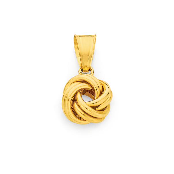9ct Gold Knot Pendant