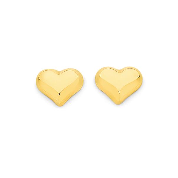 9ct Gold Stud Earrings