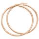 9ct Rose Gold 2.5x50mm Hoop Earrings