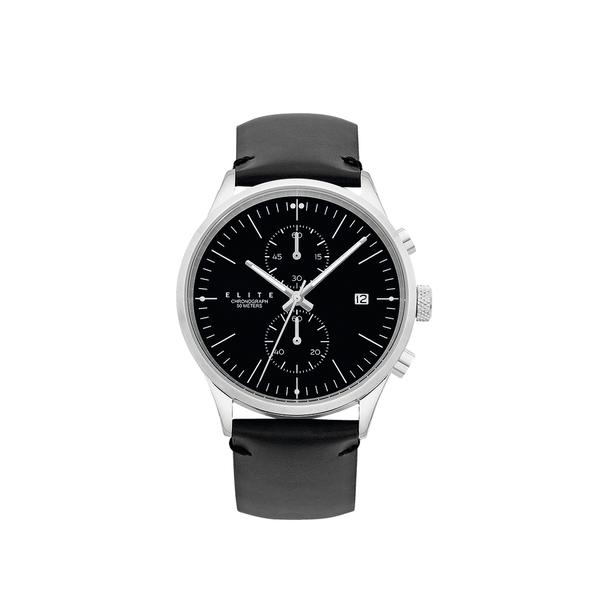 Elite Men's Silver Tone Watch