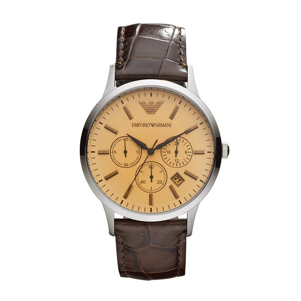 Emporio Armani Mens Renato Watch