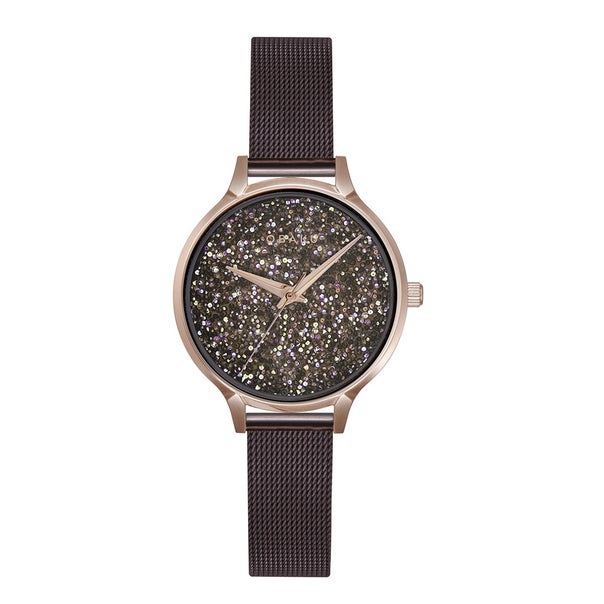 Obaku Stjerner - Walnut Ladies Watch